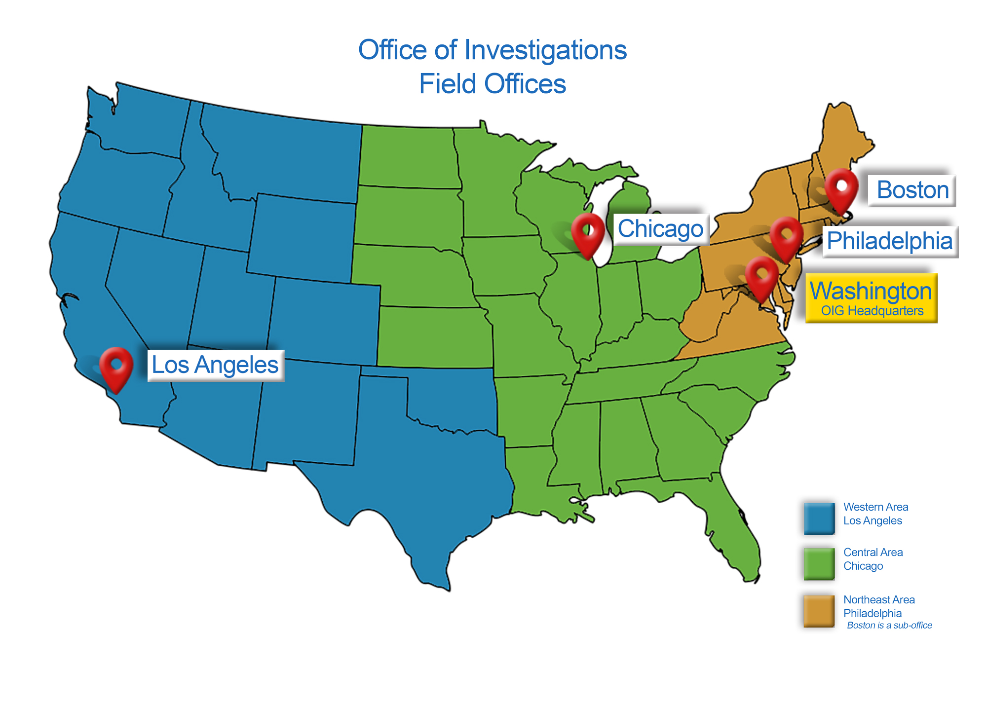Investigations Field Office Locations